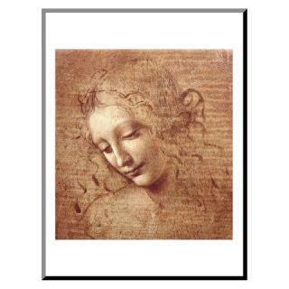 Art   Female Head c.1508 Mounted Print