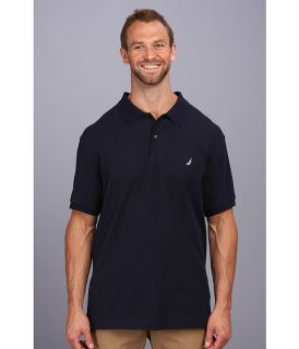 Nautica Big & Tall Big & Tall Anchor Solid Deck Shirt Navy