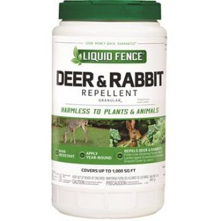 Liquid Fence Deer & Rabbit Granular Repellent, 2 lbs.