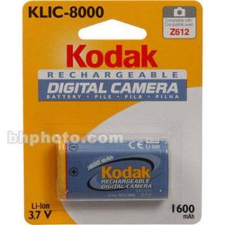 Kodak KLIC 8000 Rechargeable Li Ion Battery 8324154