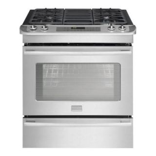Frigidaire 4.2 cu. ft. Slide In Dual Fuel Range in Stainless Steel DISCONTINUED FPDS3085KF