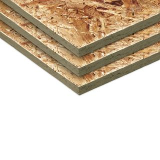 Windstorm 7/16 CAT PS2 10 OSB Sheathing, Application as 4 x 10