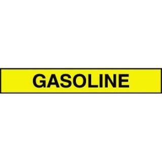 """Gasoline"" Adhesive Tank & Pipe Label"