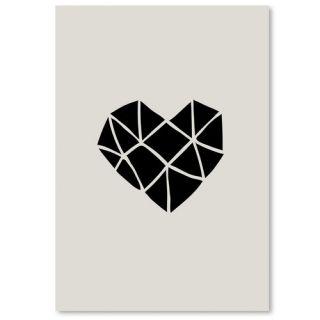 Polygon Heart by Brett Wilson Graphic Art by Americanflat