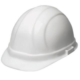 b24aee0d608 ERB Omega II 6 Point Suspension Nylon Mega Ratchet Cap Hard Hat in White  19951