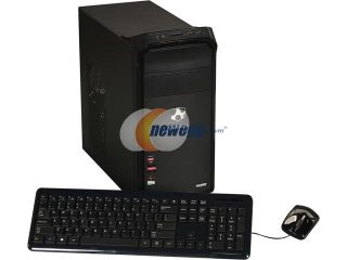 Open Box Gateway Desktop PC DX Series DT.GE3AA.001 (DX4380G UW308) A6 Series APU A6 5400K (3.6 GHz) 6 GB DDR3 1 TB HDD AMD Radeon HD 7540D Windows 8