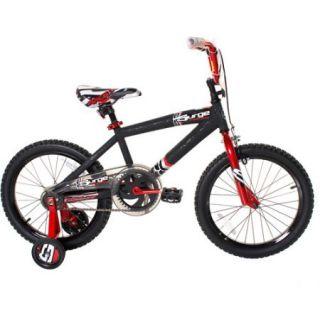 18 Next Surge Boys BMX Bike, Black/Red Kids Bikes & Riding Toys
