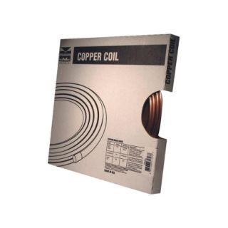 Mueller 1/4 in. x 10 ' Coil Tube (D 04010P)   Copper Tubing
