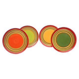 Certified International Hot Tamale Dinner Plate Set of 4 (11)