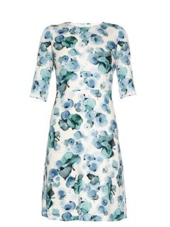 Arianna floral print crepe dress  Goat US