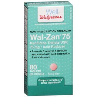 Walgreens Wal Zan 75 Acid Reducer Tablets