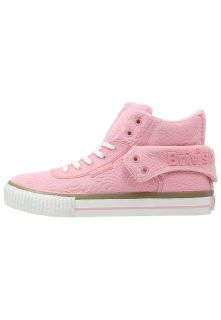 British Knights ROCO   High top trainers   soft pink