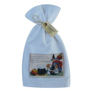 Charms of the Witching Hour Flour Sack Towel by Golden Hill Studio