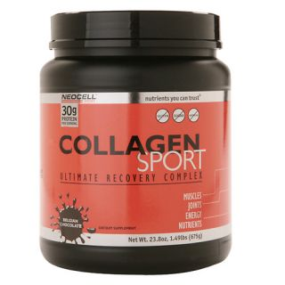 NeoCell Collagen Sport Whey Isolate Complex Belgian Chocolate