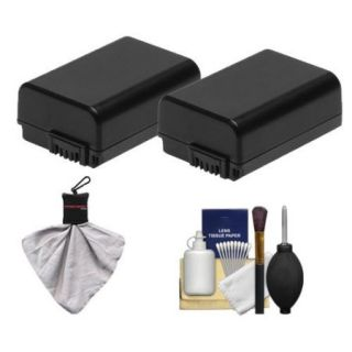 Sony Alpha Accessory Kit with 2 NP FW50 Batteries + Cleaning Kit for NEX 3, NEX 5 & NEX C3 Digital Cameras