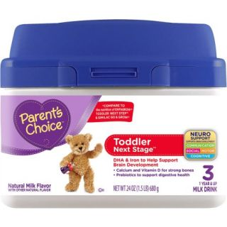 Parent's Choice Toddler Next Stage Powder Milk Drink, 24 oz