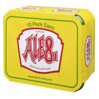 Ale 8 One   4/ 6 pks. of 12 oz. cans