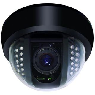 Speco Technologies BLACK PLASTIC DOME IR LEDS 540LINES HQ 1 CCD 2.9MM CVC648IRHQ2.9 (BLACK)