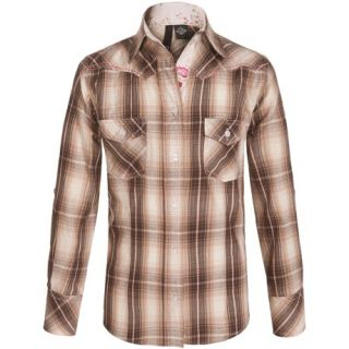 RU Apparel Plaid Shirt (For Big Girls) 9946T 88