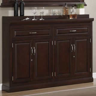American Heritage Ricardo Bar Cabinet with Wine Storage
