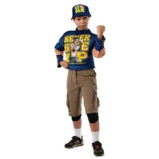 Boys WWE John Cena Deluxe Costume Size Large 12 14