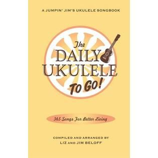 Hal Leonard Hal Leonard The Daily Ukulele: To Go!  Fake Book   TVs