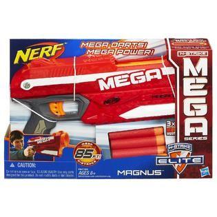 Nerf N Strike Elite Mega Magnus Blaster   Toys & Games   Outdoor Toys