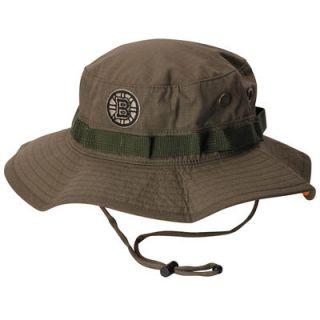 Boston Bruins Mitchell & Ness Boonie Logo Bucket Hat   Green