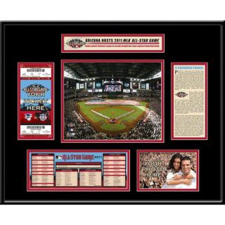 2011 All Star Game Ticket Frame – Arizona Diamondbacks Host Arizona Diamondbacks TFRBBAS11
