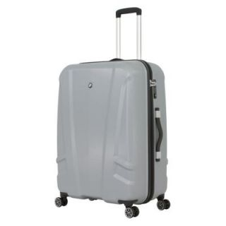 BMW 27 in. Silver Hardside Spinner Suitcase 0133014175
