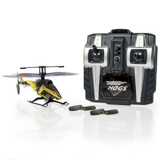 Air Hogs Axis 400X Remote Control Helicopter   Yellow    Spin Master