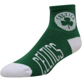 Boston Celtics Womens Team Logo Crew Socks   Kelly Green