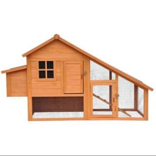 Merry Products Habitat Chicken Coop with Nesting Box