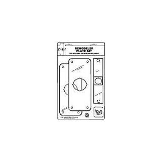 DON JO MFG INC. Remodeler Plate Kit; Polished Brass