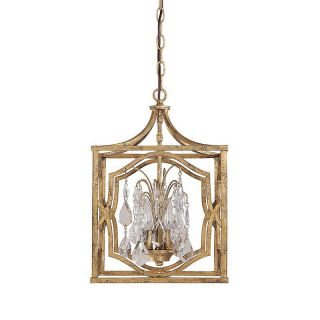 Capital Lighting 9481 Blakely 3 Light Foyer with Crystals