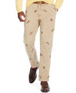 Polo Ralph Lauren Straight Fit Embroidered Bedford Chino Pants