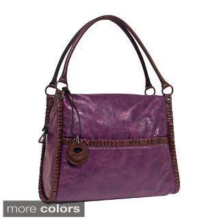 Rina Rich Kelly Faux Leather Shoulder Bag   14188364