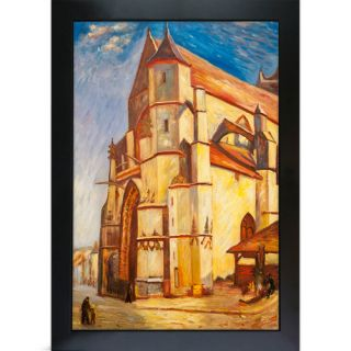 Tori Home The Church at Moret in Morning Sun by Alfred Sisley Framed