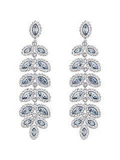 Swarovski Baron pierced earrings