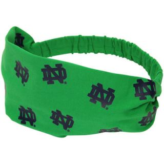 Notre Dame Fighting Irish Womens Headband   Kelly Green