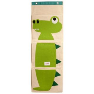 3 Sprouts Crocodile Wall Toy Organizer