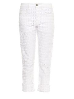 Pierce broderie anglaise jeans  Isabel Marant US