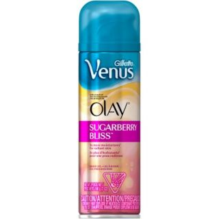 Gillette Venus with a Touch of Olay Sugarberry Bliss Shave Gel, 7 oz