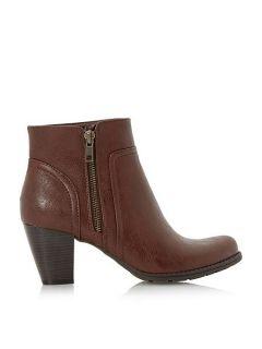 Linea Peake side zip ankle boot