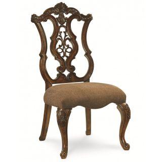 Legacy Classic Furniture 3100 140 KD Pemberleigh Pierced Back Side Chair