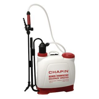CHAPIN Backpack Sprayer, Polyethylene Tank Material, 4 gal., 100 psi Max Sprayer Pressure   11K567|61575   Grainger