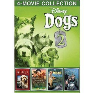 Disney Dogs, Volume 2: The Journey Of Natty Gann / Rascal / Benji The Hunted / Where The Red Fern Grows