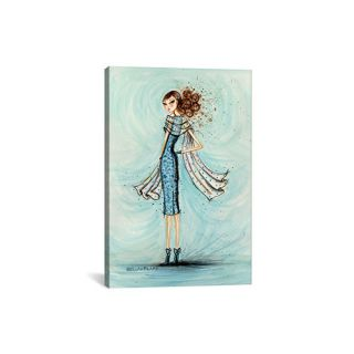 iCanvas Starlet In Blue by Bella Pilar Painting Print on Canvas