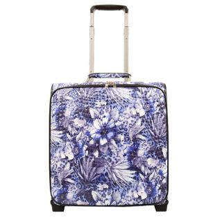 Mellow World Evelyn 16 inch Rolling Upright Carry on Upright Suitcase