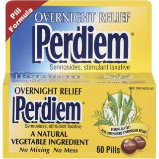 Perdiem Stimulant Laxative Overnight Relief Pills, 60ct